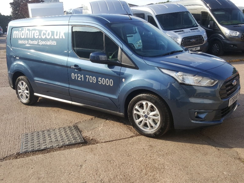 FORD TRANSIT CONNECT LWB Car Hire Deals