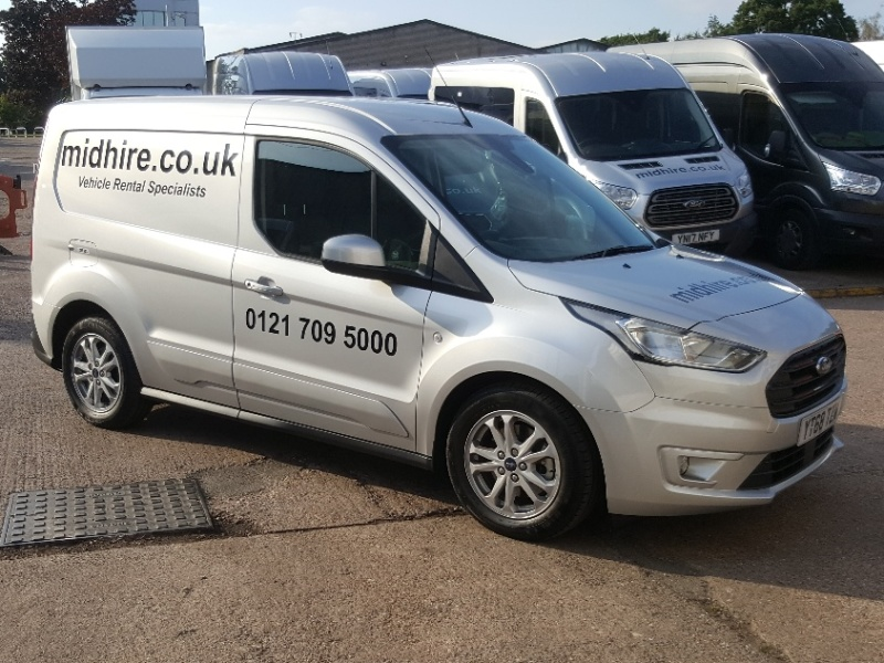 FORD TRANSIT CONNECT SWB | Midhire