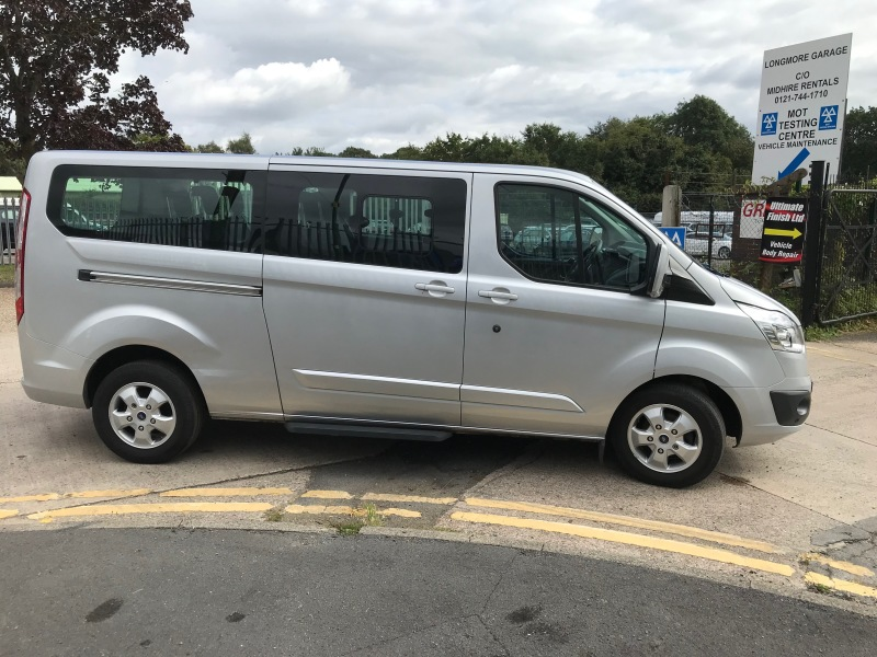 Ford Custom Tourneo 9 seats Car Hire Deals